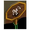 Pinto Pony Foal Mastery Sign-icon