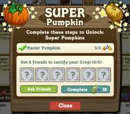 Super Pumpkin Certify