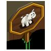 White Pig Mastery Sign-icon