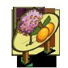 Golden Plum Tree Mastery Sign-icon