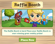 Raffle Booth Placement Notification