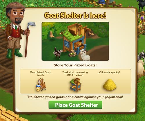 Goat Shelter start