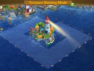 Treasure Hunting Mode