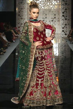 Manish malhotra spring summer 2011 collection 15