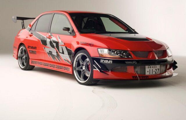 File:2006 Mitsubishi Lancer Evo IX - Tokyo Drift Promotional.jpg