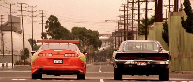 File:Brian's Supra & Dom's Charger.png