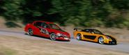 Evolution IX & RX-7 VeilSide Fortune - Drifting