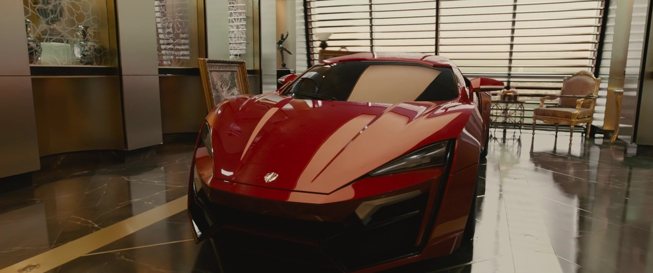 Red Sport Car In Fast And Furious
