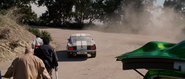 1967 Mustang Rear View - Drift Practice