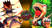 Fatal Fiction Thumbnail - Groudon VS Gon by The-Myth-of-Legend
