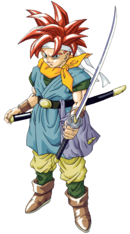 File:Chrono Trigger - Crono as he appears for the Playstation version.png