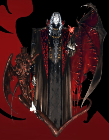 File:Castlevania - Dracula as seen in Curse of Darkness.png