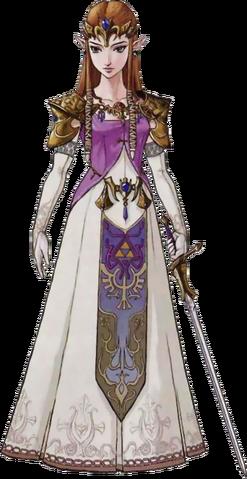File:The Legend of Zelda - Artwork of Princess Zelda for Twilight Princess.png