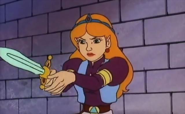 File:The Legend of Zelda - Princess Zelda as she appears in 1989 cartoon.png