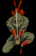 Shinnobi - Joe Musashi as he appears in The Super Shinnobi