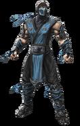 Mortal Kombat - Sub-Zero as he appears in Mortal Kombat 9