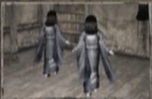 Fleeing twin