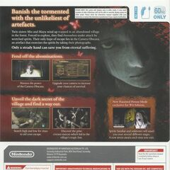 The back cover of the Australian box art