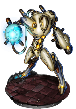 Iron Gaigelbuster Figure