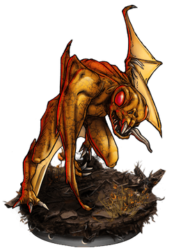Winged Rot Figure