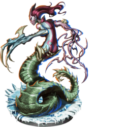 Lilith, Serpentine Shapeshifter Figure