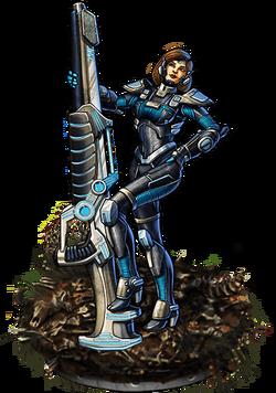 Cannon Command Figure