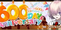 600 Days Anniversary