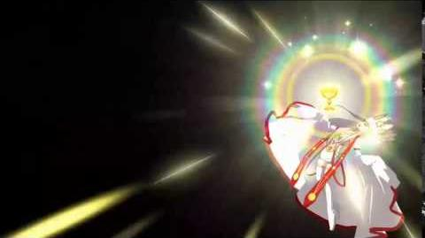 Accel Zero Order- Irisviel (Dress of Heaven) Noble Phantasm