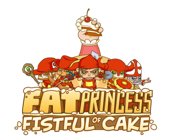 File:Fat-Princess-Fistful-Cake-Logo.png