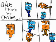 Blue Fronk and Orange The Big Fight