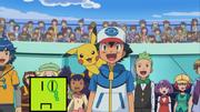 Green fronk in pokemon best wishes