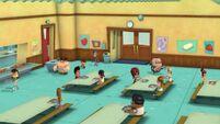 Cafeteria overshot
