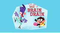 Brain Drain title card