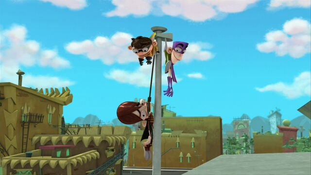 File:Main 3 stuck on the flagpole (flashback) s1e17a.jpg