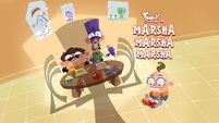 Marsha, Marsha, Marsha title card