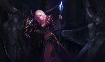 Blondes women mage video games world of warcraft fantasy art artwork jaina proudmoore chenbo 1600 wallpaperswa.com 58