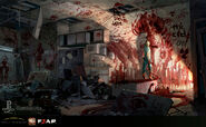 Fear3-Concept Art of the Suburbs Second.