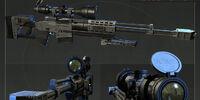 Raab KM50 Sniper Rifle