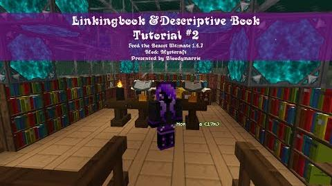 Feed the beast mystcraft Tutorial Linkingbook, Descriptivebook (Deutsch German)
