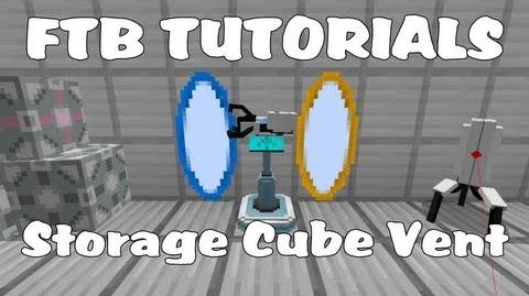 Feed The Beast Tutorials - Weighted Storage Cube Vent