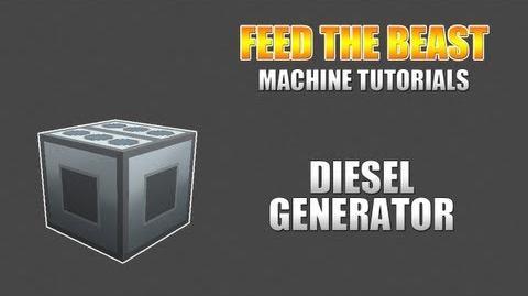 Feed The Beast Machine Tutorials Diesel Generator