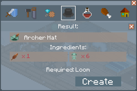 File:Archer Hat - Creation Screen.png