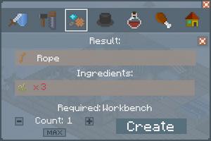 Rope - Creation Screen
