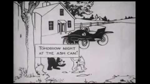 Felix The Cat - Feline Follies (1919) First Felix Film