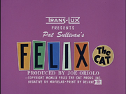 Felix the Cat (TV series) title