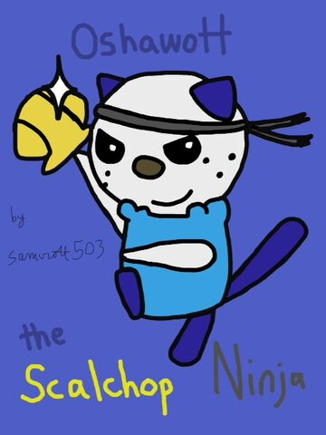 File:Oshawott the Scalchop Ninja - by samurott503.jpg
