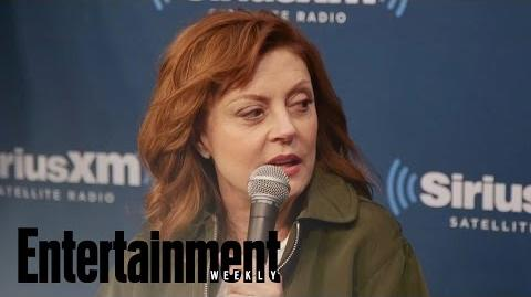 Feud Susan Sarandon On The Challenge Of Acting With A Cigarette In Her Mouth Entertainment Weekly