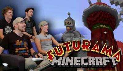 Futurama minecraft bt