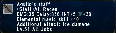 Aquilo's Staff