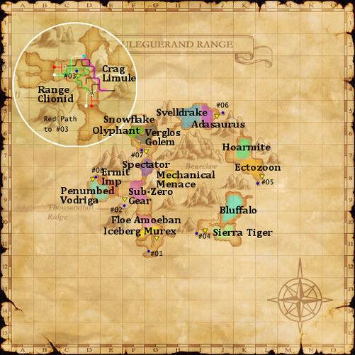 Uleguerand map